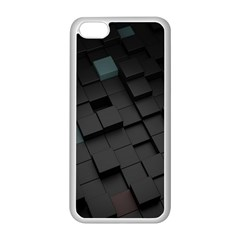 Blackcubes  Apple Iphone 5c Seamless Case (white) by amphoto