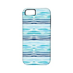 Watercolor Blue Abstract Summer Pattern Apple Iphone 5 Classic Hardshell Case (pc+silicone) by TastefulDesigns