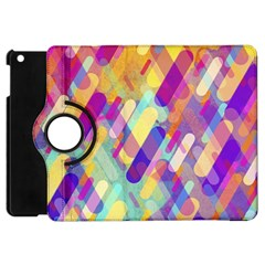 Colorful Abstract Background Apple Ipad Mini Flip 360 Case