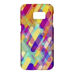 Colorful Abstract Background Samsung Galaxy S7 Hardshell Case