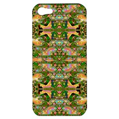 Star Shines On Earth For Peace In Colors Apple Iphone 5 Hardshell Case by pepitasart