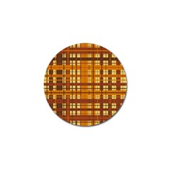 Plaid Pattern Golf Ball Marker (10 Pack) by linceazul