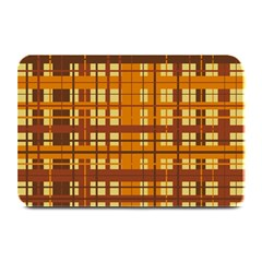 Plaid Pattern Plate Mats by linceazul