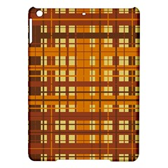 Plaid Pattern Ipad Air Hardshell Cases by linceazul