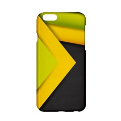 Abstraction Lines Stripes  Apple Iphone 6/6s Hardshell Case by amphoto
