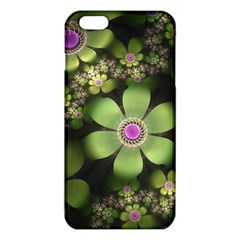 Abstraction Fractal Flowers Greens  Iphone 6 Plus/6s Plus Tpu Case by amphoto
