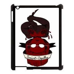 Agata Apple Ipad 3/4 Case (black) by quirogaart