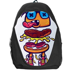 Burger Kill Backpack Bag by quirogaart