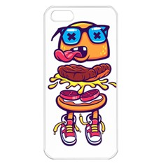 Burger Kill Apple Iphone 5 Seamless Case (white) by quirogaart