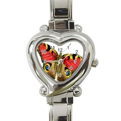 Butterfly Bright Vintage Drawing Heart Italian Charm Watch