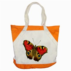 Butterfly Bright Vintage Drawing Accent Tote Bag by Nexatart
