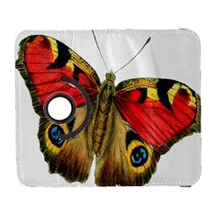 Butterfly Bright Vintage Drawing Galaxy S3 (flip/folio) by Nexatart