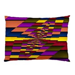 Autumn Check Pillow Case (two Sides) by designworld65