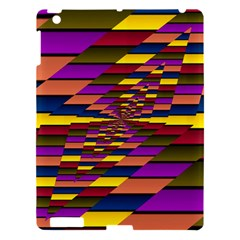Autumn Check Apple Ipad 3/4 Hardshell Case by designworld65