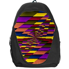 Autumn Check Backpack Bag