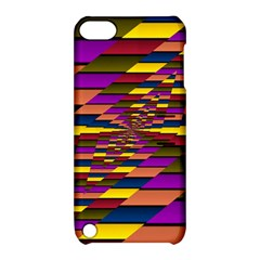 Autumn Check Apple Ipod Touch 5 Hardshell Case With Stand by designworld65
