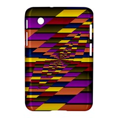 Autumn Check Samsung Galaxy Tab 2 (7 ) P3100 Hardshell Case  by designworld65