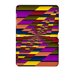Autumn Check Samsung Galaxy Tab 2 (10 1 ) P5100 Hardshell Case  by designworld65