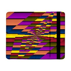 Autumn Check Samsung Galaxy Tab Pro 8 4  Flip Case by designworld65
