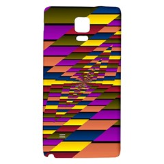 Autumn Check Galaxy Note 4 Back Case