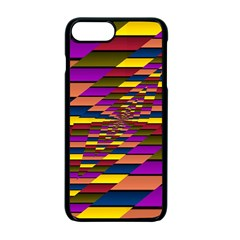 Autumn Check Apple Iphone 7 Plus Seamless Case (black) by designworld65