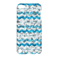 Baby Blue Chevron Grunge Apple Ipod Touch 5 Hardshell Case