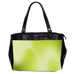 Green Soft Springtime Gradient Office Handbags (2 Sides)  by designworld65