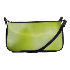 Green Soft Springtime Gradient Shoulder Clutch Bags by designworld65