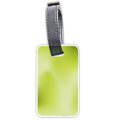 Green Soft Springtime Gradient Luggage Tags (two Sides) by designworld65