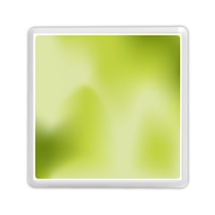 Green Soft Springtime Gradient Memory Card Reader (square)  by designworld65