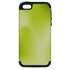 Green Soft Springtime Gradient Apple Iphone 5 Hardshell Case (pc+silicone) by designworld65