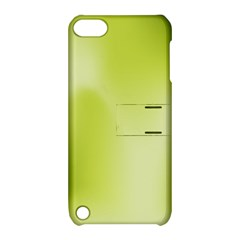Green Soft Springtime Gradient Apple Ipod Touch 5 Hardshell Case With Stand by designworld65