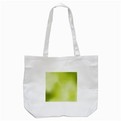Green Soft Springtime Gradient Tote Bag (white) by designworld65