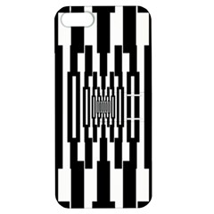 Black Stripes Endless Window Apple Iphone 5 Hardshell Case With Stand by designworld65