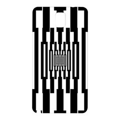 Black Stripes Endless Window Samsung Galaxy Note 3 N9005 Hardshell Back Case by designworld65