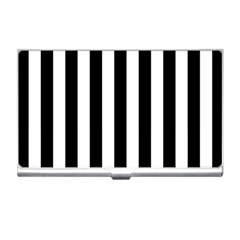 Black And White Stripes Business Card Holders