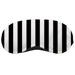 Black And White Stripes Sleeping Masks by designworld65