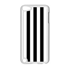 Black And White Stripes Apple Ipod Touch 5 Case (white) by designworld65