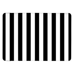Black And White Stripes Samsung Galaxy Tab 8 9  P7300 Flip Case by designworld65