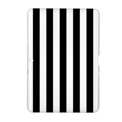 Black And White Stripes Samsung Galaxy Tab 2 (10 1 ) P5100 Hardshell Case  by designworld65