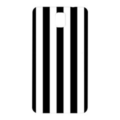 Black And White Stripes Samsung Galaxy Note 3 N9005 Hardshell Back Case by designworld65