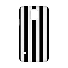 Black And White Stripes Samsung Galaxy S5 Hardshell Case  by designworld65