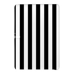 Black And White Stripes Samsung Galaxy Tab Pro 12 2 Hardshell Case by designworld65