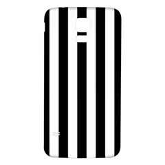 Black And White Stripes Samsung Galaxy S5 Back Case (white) by designworld65
