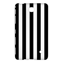 Black And White Stripes Samsung Galaxy Tab 4 (7 ) Hardshell Case  by designworld65