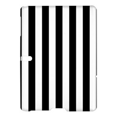 Black And White Stripes Samsung Galaxy Tab S (10 5 ) Hardshell Case  by designworld65