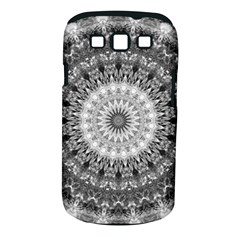 Feeling Softly Black White Mandala Samsung Galaxy S Iii Classic Hardshell Case (pc+silicone) by designworld65