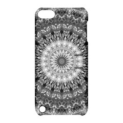 Feeling Softly Black White Mandala Apple Ipod Touch 5 Hardshell Case With Stand by designworld65