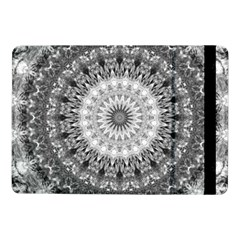 Feeling Softly Black White Mandala Samsung Galaxy Tab Pro 10 1  Flip Case by designworld65