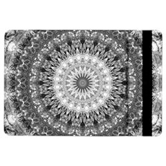 Feeling Softly Black White Mandala Ipad Air 2 Flip by designworld65